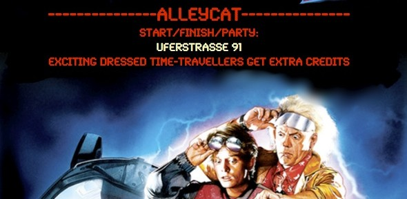 Alleycat: Back To The Future Part II