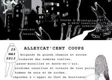 Le samedi 25 mai 2013, aura lieu le premier Alleycat de Louvain-la-Neuve!