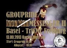 IronMessenger II / Groupride to TriCMC Freiburg