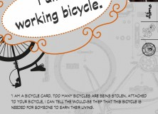 I am a working bicycle!