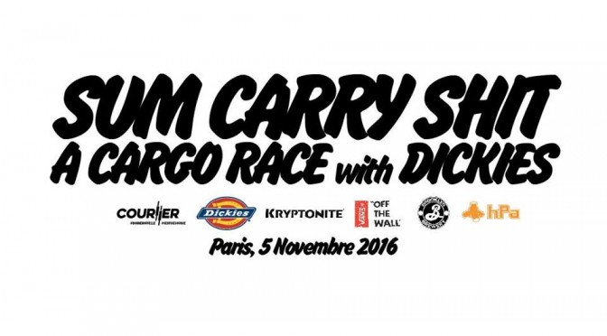 5th of Nov : CARRY SHIT CARGO RACE, #Paris