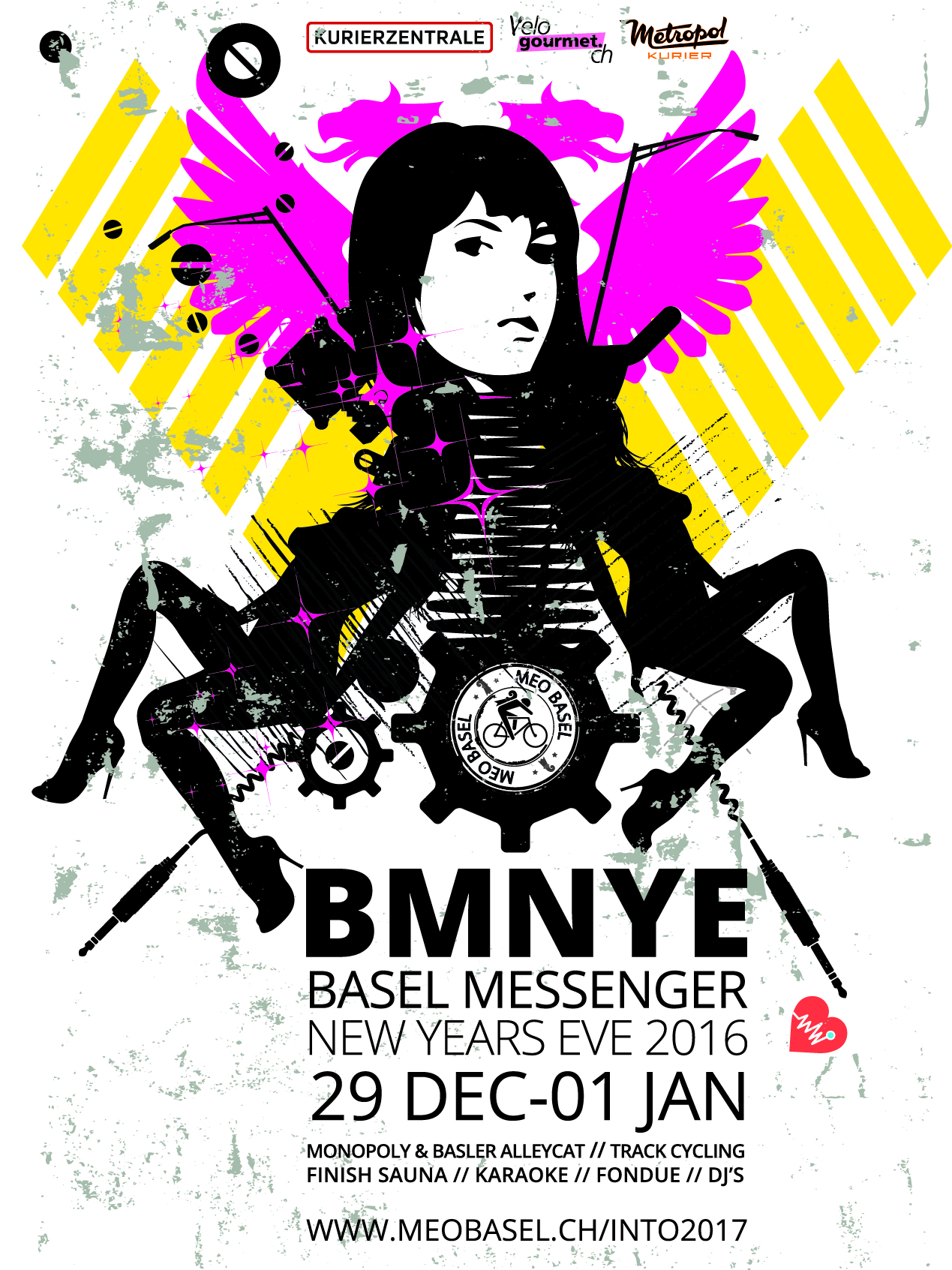 29.Dec – 1st. Jan BMNYE Basel Messenger New Years Eve